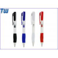 Cheap Plastic Handwriting Pen 2GB USB Disk Separate Drive Rubber Holding for sale