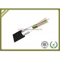 Outdoor Stranded Loose Tube Fiber Optic Cable With Aluminum Polyethylene Laminate