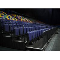 Telescopic Indoor Bleacher Seating / Conference Centers Movable Stadium Seating