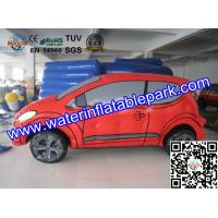 Outdoor Advertising Inflatable Car Replicas Water-proof OEM / ODM Manufactures