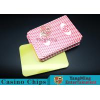 Cheap PVC plastic Casino Poker Playing Card Die Cutting Card With Custom Quality And Pro Service Four Color for sale