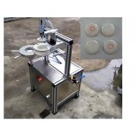 Cheap Semi-auto pleast wrapping machine with labeling function for packing hotel round soap for sale