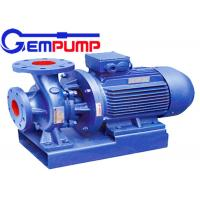 IS type industrial clean water centrifugal pump / Garden irrigation pump Manufactures