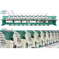 Commercial Mixed Flat 18 Head Chenille Embroidery Machine with Dahao Servo Motor Manufactures