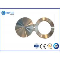 Customized Spectacle Blind Flange , Forged Carbon Steel Flanges ASTM ASME A SA105 N Manufactures