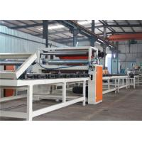 PVC Laminated Fully Automatic Lamination Machine For Double Sided Gypsum Board Manufactures