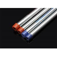 BS 4568 / BS 31 Hot Dip Galvanized Conduit Pipe With Screwed Ends And Caps Manufactures