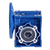 Nmrv Series Worm Drive Gearbox , Worm Gear Reducer 0.06-15KW Rated Power