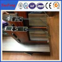 Hot sell good quality bridge-broken thermal-break aluminium profile for Windows Manufactures