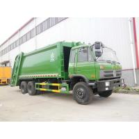 Refuse Garbage Compactor Truck Dongfeng 16cbm 6 X 4 Residential Refuse Collection Trucks Manufactures