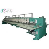 24 Head Multi needle Computerized Embroidery Machine For Lady Dress Manufactures