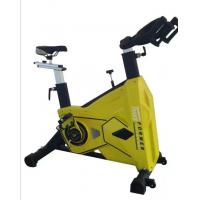 Stationary Spin Bike  20kg Flywheel , Solid Steel In Home Exercise Bike For Men Manufactures