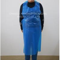 Waterproof Polythene Blue Disposable Aprons On A Roll Coloured Free Samples Manufactures