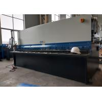 Buy cheap 32mm Cutting Thickness Automatic Shearing Machine / Hydraulic Swing Beam Shear from wholesalers