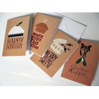 Commercial Custom Christmas Card Printing Service , Greeting Card Printing Services Manufactures