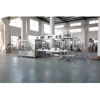 PLC Control Liquid Drinking Water Filling Machine For Plastic Bottle CE SGS ISO Manufactures
