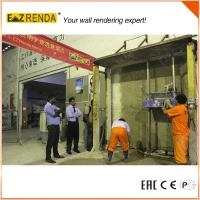 High speed Ez Renda Rendering Machine Mix Mortar Single Phase Manufactures