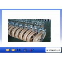 Overhead Transmission Line OPGW Installation Tools Conductor Stringing Blocks φ660x100mm