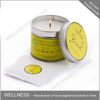 Essential Oil Colorful Scented Tin Candles Handmade With Customized Fragrance Manufactures