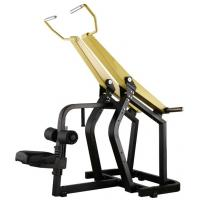 Professional Yellow Hammer Strength Plate Loaded Gym Equipment / Pull Down Machine 152kg Manufactures
