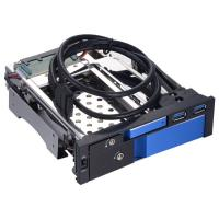 Unestech  2.5+3.5 dual bay aluminum case SATA hard drive caddy hot swap hdd enclosure with two USB 3.0 port Manufactures