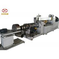 Automatic Extruder PVC Machine , Twin Screw Compounding Extruder SISMENS Motor Manufactures