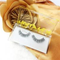 Quality Clear Acrylic Display Box / False Eyelash Extensions Packaging Box Case With for sale