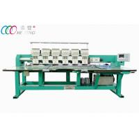 computer 6 Heads 9 Needles Flat Embroidery Machine For Garment HFIII-906 Manufactures