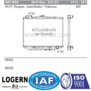 China Cooling Machine HONDA Car Radiator Used In Passport / Isuzu Rodeo / Vehicross'94-97 on sale