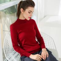 Fashion Slim Womens Knit Sweater 100% Cashmere Material Pullover Style Manufactures