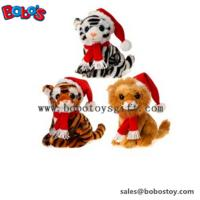 Hot Sale Plush Big Eyes Stuffed Animal Christmas Toy Manufactures