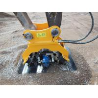 China Excavator Attachments Vibrating Hydraulic Plate Compactor Machine for Sale on sale
