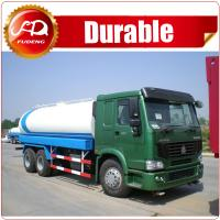 2016 hot sale high quality 19000L 6x4 STR 5000 gallon water tank truck Manufactures