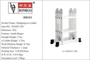 Foldable 4x2 3.9ft Multi Purpose Scaffold Ladder Manufactures