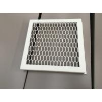 Cheap RAL 9016 White Color PVDF Coating Punching Wave Aluminum Panel for sale