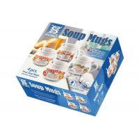 Morden Soup Mugs Food Box Printing , Subscription Box Printing One Sdie Coated Paper Manufactures
