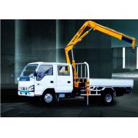 3200kg   knuckle boom crane Truck Mounted 6.72 T.M Lifting commercial Manufactures