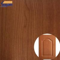 Colorful Embossed Wood Grain Decorative PVC Furniture Film For Kitchen Cabinets Manufactures