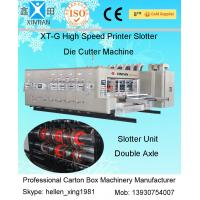 Paper Cardboard Corrugated Carton Folding Machine 3200mm , High Topping Precision