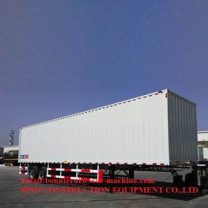 20T 40ft Dry Wing Van Heavy Duty Semi Trailers Manufactures