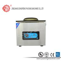 Automatic Food Packing Machine Electric Driven Double Sealing Bar Vacuum Sealing Machines DZ-400B Manufactures