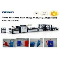 Cheap High Efficiency Non Woven Bag Making Machine , Carry Bag Manufacturing Machine for sale