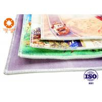 5mm Thickness Polyester Printed Felt Sheets Carpet Backing With Anti - Slip Nonwoven Manufactures