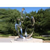Custom Size Stainless Steel Sculpture For City Decoration OEM / ODM Acceptable Manufactures