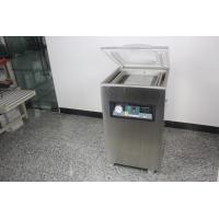 Vacuum Sealers Food Packing Machine With Flat Chamber / Rounding Off Edge Manufactures