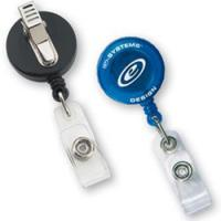 Round Secure-A-Badge™ with Alligator Clip Manufactures