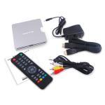 Caja delgada V22, 1080P resolución máxima, visión de Android TV de HD