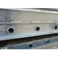 Customized Galvanized Steel Channel High Toughness For Steel Bridge Parts Manufactures