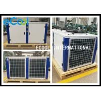 China Piston Compressor Freezer Condenser Unit / Powerful Air Conditioner Condenser on sale