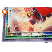 Kids Carpet Flooring Polyester  Printed Felt Sheets Backed Non - Slip Nonwoven Manufactures